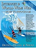 二手書博民逛書店 《Internet & World Wide Web How to Program (1st Edition)》 R2Y ISBN:0130161438