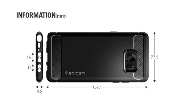 【米創3C】SGP 三星 Note7 Rugged Armor 強化吸震軟式保護殼 卡夢紋 手機殼 Note 7