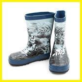 兒童雨靴 兒童雨鞋 環保橡膠 防滑加厚印花