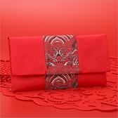 紅包 橫款織錦緞紅包袋 新年 春節 開運 壓歲錢 禮金袋 絲綢紅包袋 布紅包 新款 壓歲錢 6017