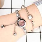 【限時下殺79折】正韓簡約時尚手鍊設計款水鑽手錶