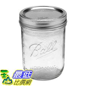 [8美國直購] 1入裝 寬口徑 Ball MASON Jar 梅森罐 16oz 473ml 玻璃收納瓶罐 66000 _U53 dd
