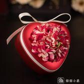 婚慶用品喜糖盒子創意婚禮糖盒中國風心形結婚馬口鐵喜糖盒子 娜娜小屋