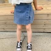 韓國女童夏季牛仔褲2020新款褲子女寶寶百搭裙褲夏季外穿女孩牛仔短褲【居享優品】
