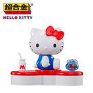 【正版授權】超合金 x 凱蒂貓45周年 公仔 模型 金屬玩具 合金公仔 Hello Kitty BANDAI 萬代 - 587411