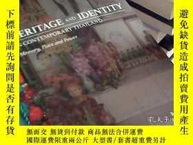二手書博民逛書店heritage罕見and identity in contem