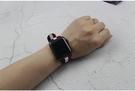 蘋果錶帶 君米適用蘋果apple watch4手錶錶帶iwatch2/3 星河光年