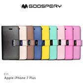 GOOSPERY Apple iPhone 7/8 Plus 5.5吋 RICH 雙層磁扣皮套 插卡側翻保護套 手機套 I8P