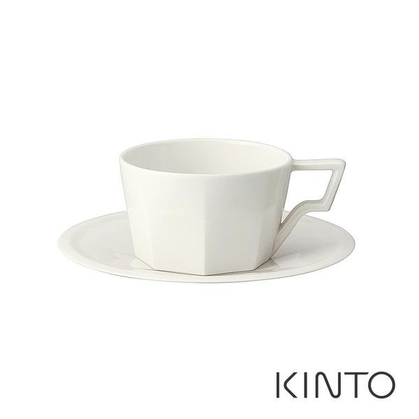 日本KINTO OCT八角咖啡杯盤組220ml