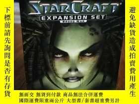 二手書博民逛書店STARCRAFT罕見BROOD WAR 遊戲類書Y12800