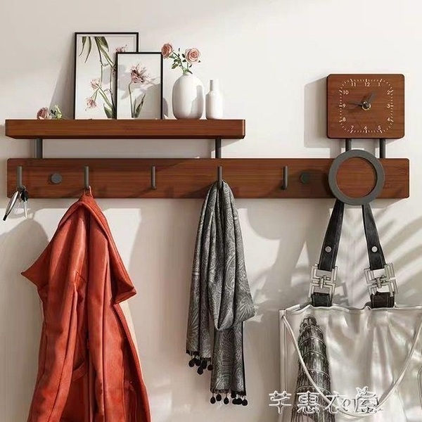 衣服掛鉤掛衣鉤墻上置物架收納架門后掛衣架壁掛家用多功能衣帽鉤 YYS 快速出貨