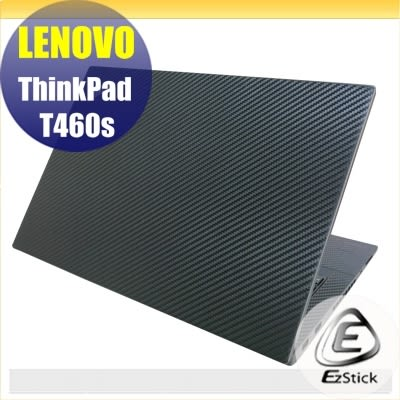 【Ezstick】Lenovo T460S 無指紋機 專用 黑色立體紋機身貼 (含上蓋、鍵盤週圍)DIY包膜