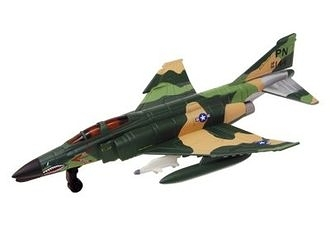 【4D Master】20203A 立體拼組模型 戰鬥機系列 F-4E Phantom II Woodland 1:144 Model