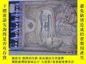 二手書博民逛書店CANADA罕見An Outine History (1492-