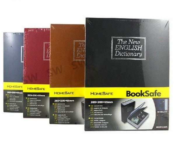 AE003書本保險箱 密碼款 booksafe 大號 英文字典 現金箱現金櫃/保險櫃/金庫/零錢箱/存錢筒