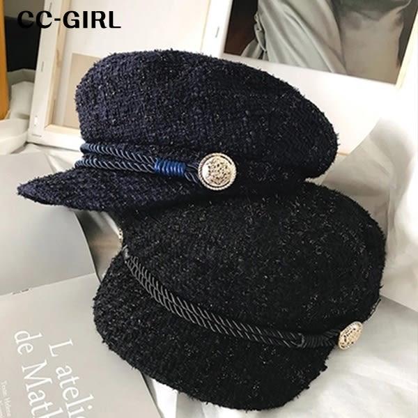 中大尺碼 氣質百搭報童帽~共兩色《 19496 》CC-GIRL