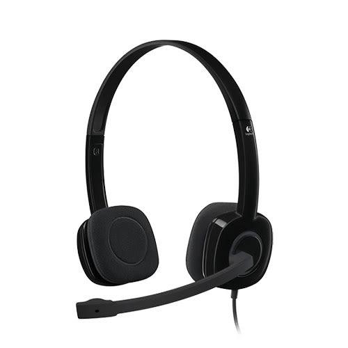 Logitech 羅技 H151 立體聲 麥克風 耳機