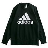 Adidas ESS BIGLOG CREW  長袖上衣 CD6275 男 健身 透氣 運動 休閒 新款 流行