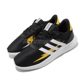 adidas 休閒鞋 Lite Racer 2.0 K 黑 黃 白 中童鞋 大童鞋 女鞋 皮卡丘 寶可夢 運動鞋 【PUMP306】 FW2545