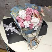 婦女節香皂玫瑰花禮盒肥皂花束送閨蜜生日禮物女生特別實用小清新igo「韓風物語」