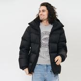 男裝ROOTS 勞倫森羽絨大衣-黑色