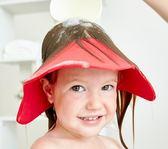兒寶寶洗頭帽 防水 耳兒童浴帽洗澡帽洗發帽防曬嬰兒 潮流衣舍