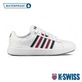 K-SWISS Pershing Court Light WP防水系列 時尚運動鞋-男-白/藍/紅