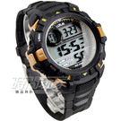 Lotus 大錶面運動休閒電子錶 多功能電子錶 男錶 防水手錶 學生錶 TP3143M-08黑金