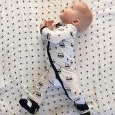 嬰兒長袖兔裝 長袖哈衣 寶寶連身衣童裝 SK2163  好娃娃