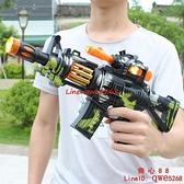 兒童電動玩具槍帶聲光音樂寶寶小男孩子發光發聲沖鋒手搶【齊心88】