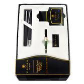 CROSS凱樂系列霧黑鋼筆+原子筆+墨水禮盒組*