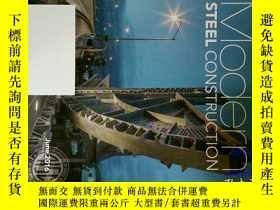 二手書博民逛書店Modern罕見Steel Construction 現代鋼結構