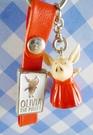 【震撼精品百貨】日本精品百貨-手機吊飾/鎖圈-波比豬系列-紅