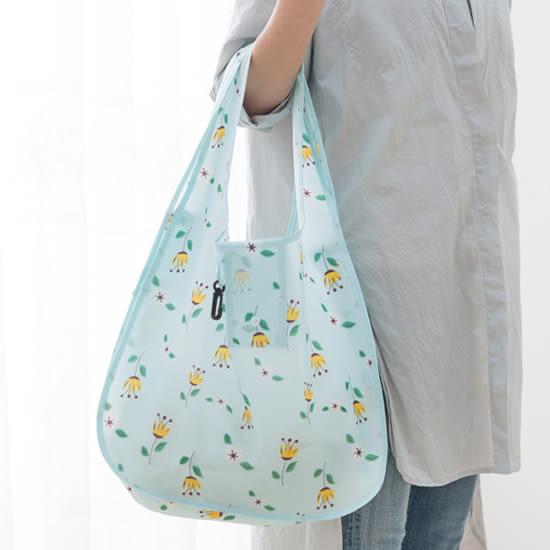 ♚MY COLOR♚花樣便攜摺疊購物袋 環保袋 購物 超市 百貨 送禮 主婦 買菜 學生 上班族【X39】