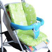 推車墊嬰兒手推車棉墊坐墊子牛津布雙面傘車配件寶寶童車餐椅通用椅墊