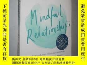 二手書博民逛書店Mindful罕見Relationships: Build nu