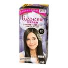 莉婕 LIESE 泡沫染髮劑 魅力遮白系列 自然黑色│飲食生活家