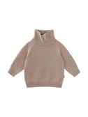 店長推薦 嬰童裝冬裝兒童高領針織打底衫女小童寶寶內搭套頭毛衣寬松