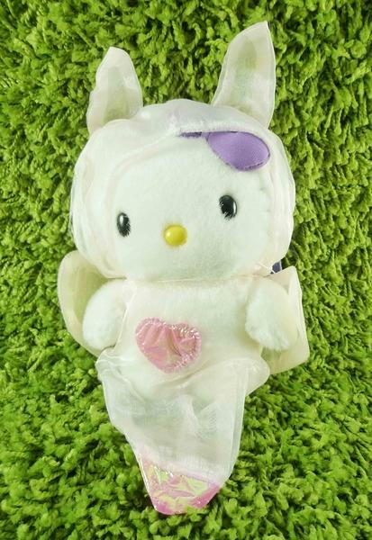 【震撼精品百貨】Hello Kitty 凱蒂貓~KITTY絨毛娃娃-北海水晶毛-L