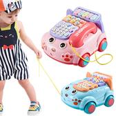 兒童玩具仿真電話機 嬰兒益智音樂電話車-JoyBaby