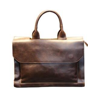 新款手提包男包單肩包斜挎包商務復古公事包休閒包DL68【男人與流行】