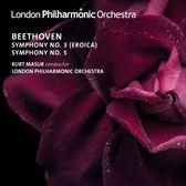 【停看聽音響唱片】【CD】庫爾特.馬蘇爾/貝多芬:第3,5號交響曲 倫敦愛樂管絃樂團