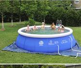 成人加厚游泳池充氣嬰幼兒童戲水池小孩寶寶游泳池大型家庭游泳池 igo  酷男精品館
