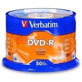◆免運費◆Verbatim 威寶 AZO 藍鳳凰 16X DVD-R 空白光碟片 50片布丁桶裝x2  100pcs