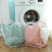 手提式折疊臟衣籃簡約糖果色大容量玩具雜物衣物收納籃衣服收納筐 居享優品