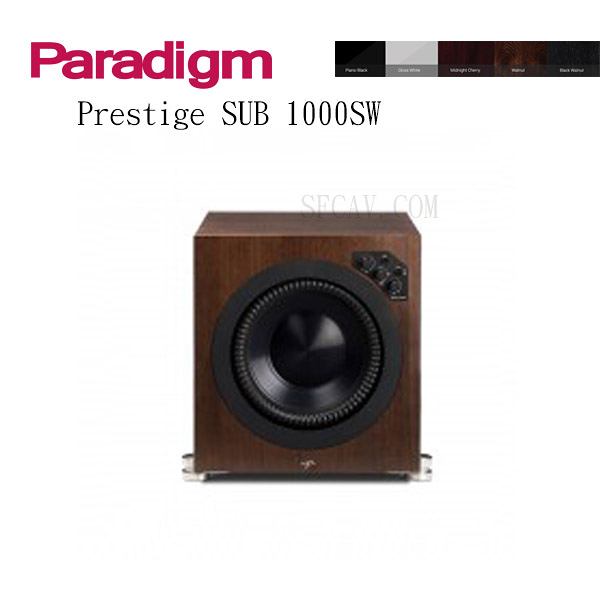 【新竹勝豐群音響】Paradigm Prestige SUB 1000SW 超低音 WA / B-WA