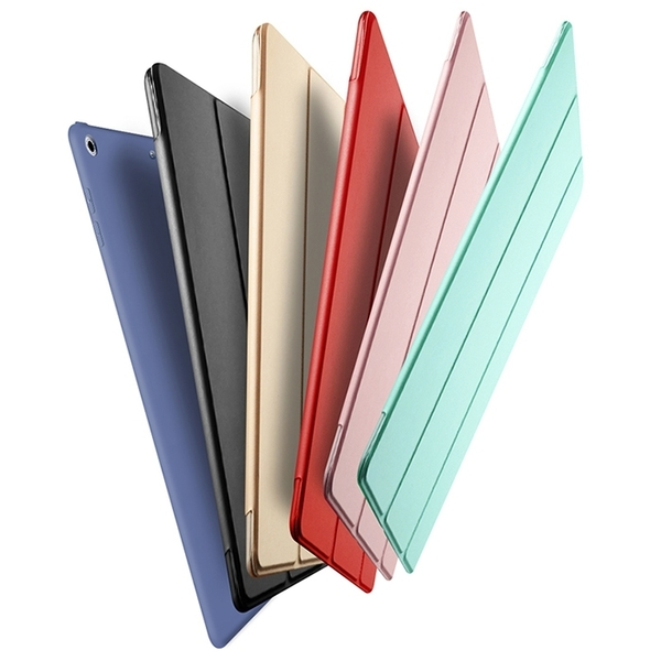 King*Shop~2017蘋果ipad 9.7保護套 A1823平板電腦包邊外殼 A1822防摔硅膠套