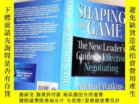 二手書博民逛書店SHAPING罕見THE GAMEY204315 、 、