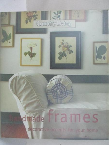 【書寶二手書T9/美工_J9F】Handmade Frames_Vitta Poplar