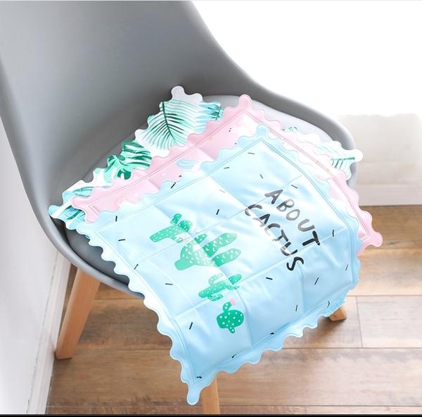 88柑仔店--2262可愛卡通汽車冰墊屁股水袋坐墊冰袋涼席椅墊水墊子夏季冰涼墊